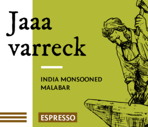 Jaa varreck Espresso Kaffee Bohnen