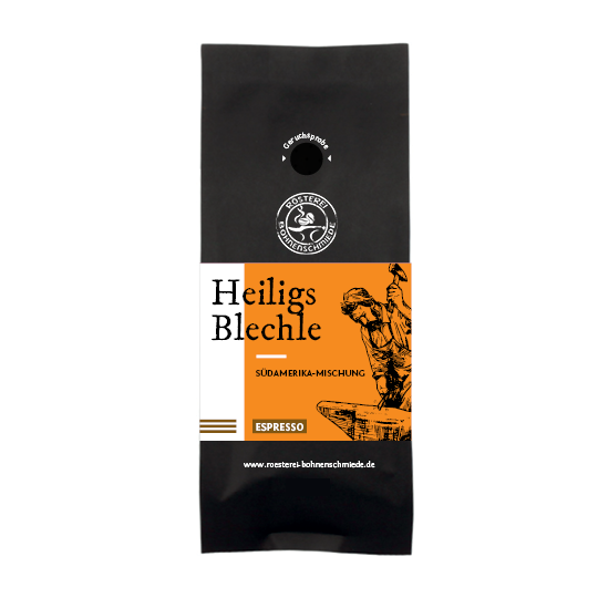 Heiligs Blechle Espresso Kaffee Bohnen