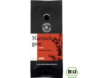 Narrisch guat Bio Filterkaffee Bohnen