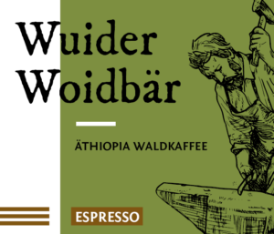 Wuider Woidbär Espresso Bio Kaffee Bohnen