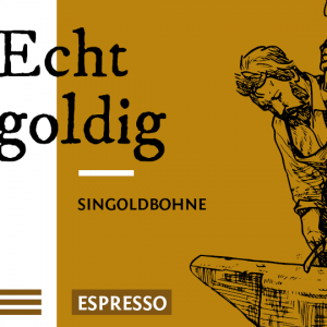 Echt goldig Direct Trade Espresso Kaffee Bohnen