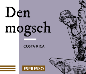 Den mogsch Direct Trade Espresso Kaffee Bohnen