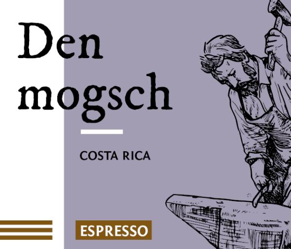 Den mogsch Direct Trade Espresso Kaffee Bohnen