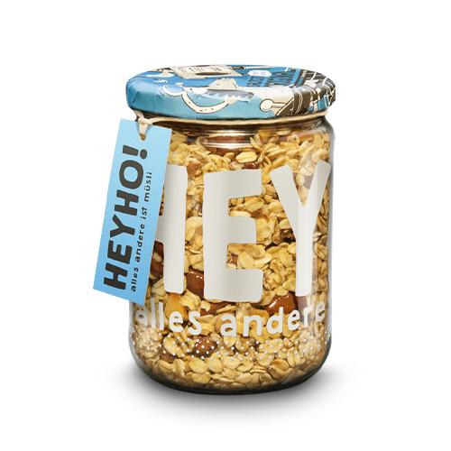 Saltcity Original - Bio-Granola mit Nüssen und etwas Salz