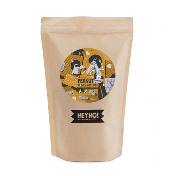 Nachfüller Peanut Power to the People - Handmade Granola mit Peanutbutter Schoko-Chunks